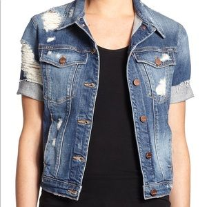 Genetic Denim Blondie Short Sleeve Jacket M
